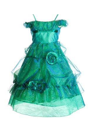 natty: Natty beautiful gown insulated on white background