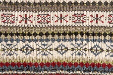 tejido de lana: Fondo punto caliente, patr�n, hecho a mano