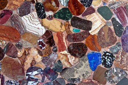 background color of polished stones photo