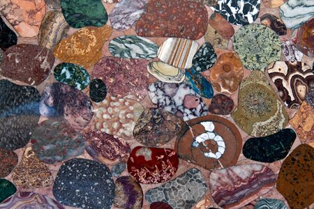 background color of polished stones Stock Photo - 10767893