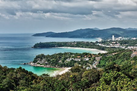 viewpoint of Phuket, the beaches of view photo