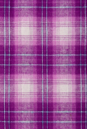Purple cloth, checkered background. photo