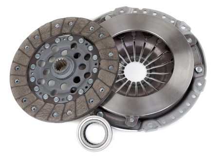 motor vehicle: Spare parts of motor vehicle forming clutch plate and disc