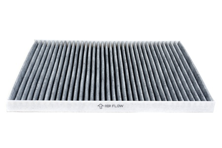 Cabin car with a carbon filter  Isolate on white background  Imagens