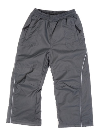 Warme broek voor de sport Geà ¯ soleerd op witte achtergrond