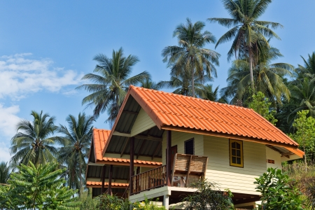 bungalow resort in jungle, Koh Cang, Thailand