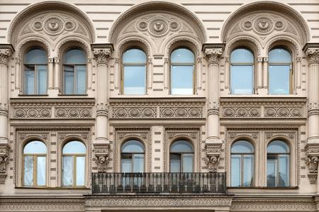 twentieth: facade of the building of the early twentieth century.