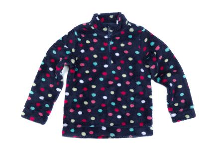 sweatshirt: Fleece sweatshirt. Isolate on white