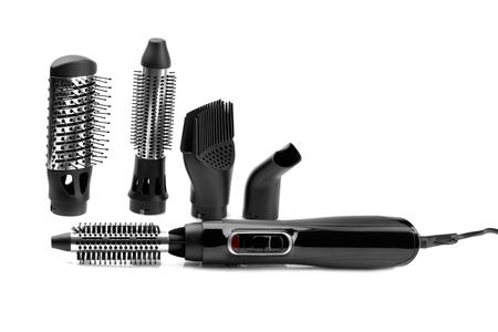 styler: Hairdryer styler brush for hair drying and styling
