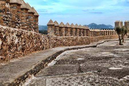 Fortification on the island of Mallorca