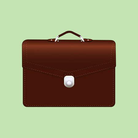 shiny suit: briefcase
