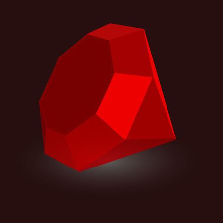 ruby stone: ruby stone