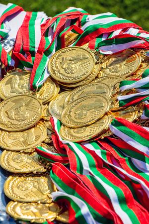 Gold Medal athletes bulgaria varna 16.05.2018 Editorial