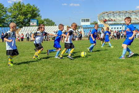 childrens football team bulgaria varna 16.05.2018