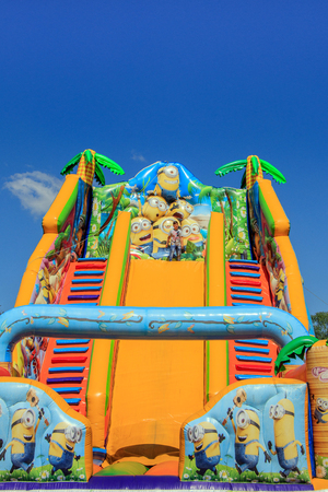 inflatable attraction bulgaria varna 16.05.2018