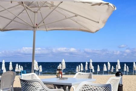 beach restaurant in Bulgaria