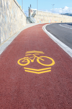 bike lane for riding and cyclist safety