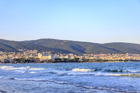 Sveti Vlas resort on the Black Sea coast of Bulgaria