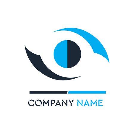Logo design for business corporate sign . Vector Logo . Çizim
