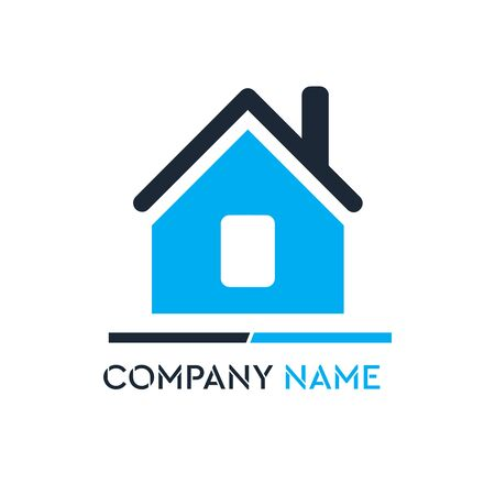 Real Estate , Property and Construction Logo design for business corporate sign . Vector Logo .] Çizim
