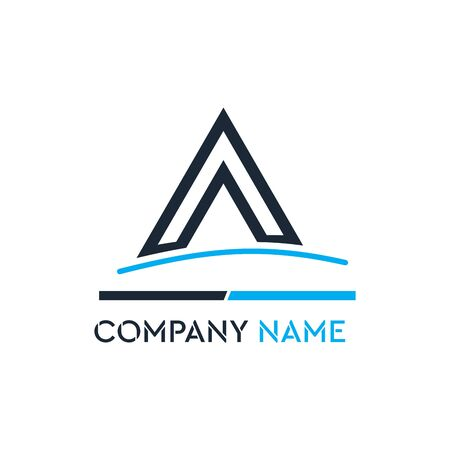 The simple and iconic design concept of Share Business Logo Çizim
