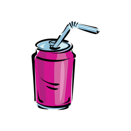 Soda Can vector illustration isolated on a white background in EPS10