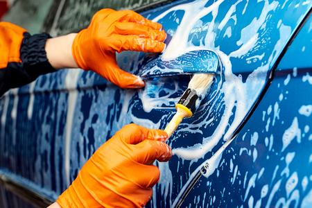 valeting: Detailed vehicle cleaning to washing