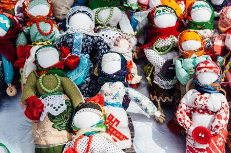 talisman: recuerdo ucraniano - un talismán punto de juguete. muñeca sin rostro