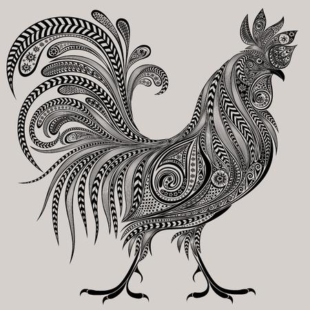 pollo: polla magnífica de patrones para el nuevo año 2017