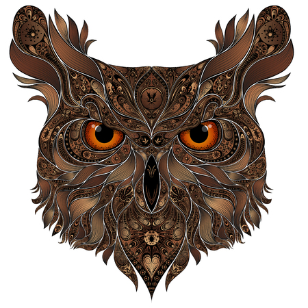 Beautiful brown owl patterns