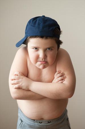 violencia intrafamiliar: gordo mal mira a la c�mara