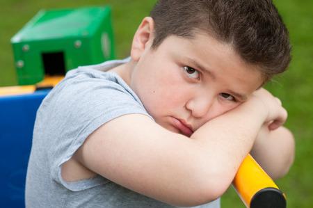 overweight kid: boy