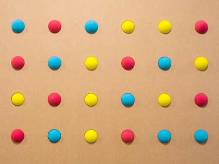 lot of colored balls as a backdrop substrate. fun multicolored toy for kids background - Image Stok Fotoğraf - 122663981