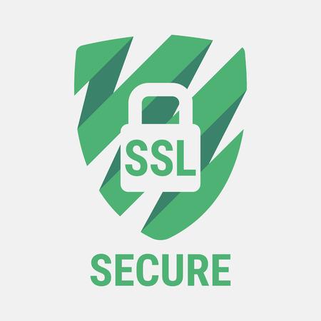 Globale SSL-Sicherheit Icon. Sichere Web-Seiten Im Internet. SSL ...