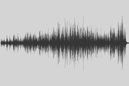Musical equalizer. Sound wave. Radio frequence. Vector illustration. Zdjęcie Seryjne