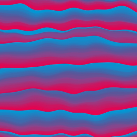 Vector striped background. Cool colorful geometric background with curved lines. Vector illustration
