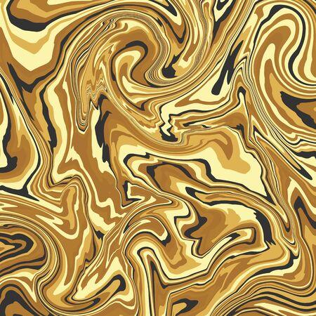 Premium marble background. Divorces of gold paint. Vector illustration