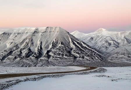 Arctic paysage