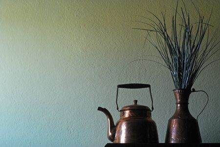 bronzed: Bronzed still-life
