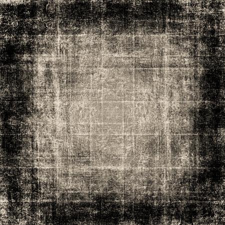 grunge frame brown background texture Banco de Imagens - 122404245