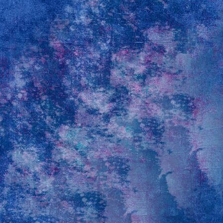 blue canvas marble background texture Imagens