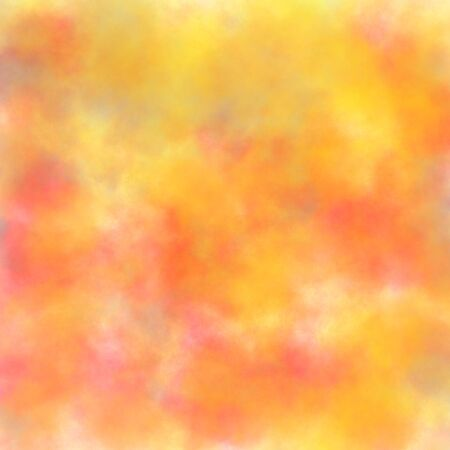 abstract bright yellow watercolor background texture