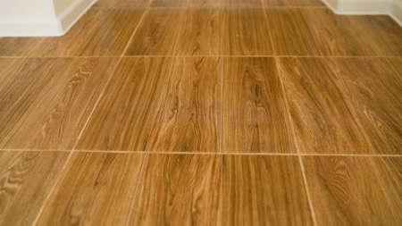 Tile in wood color. wood floor texture.
