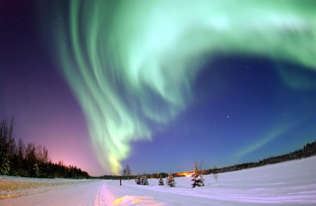 Aurora Borealis Northern Lights Stock Photo - 10084925