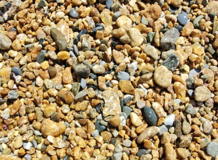 Colorful wet sea pebbles. Background