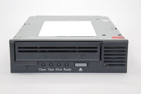 Backup Tape Drive on a white background