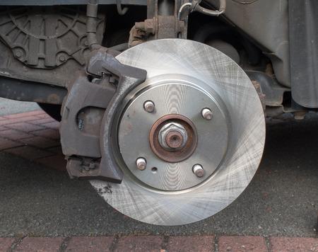 brake caliper: New Car Brake Disk  brake caliper fitted