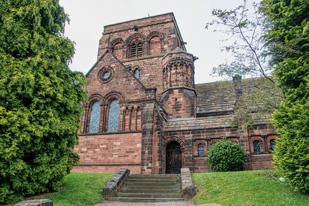 Exterior view of a Church in England