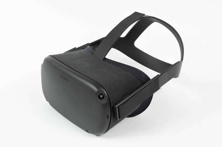 CHESTER, UNITED KINGDOM - APRIL 11th 2020: Oculus Quest VR Headset Editorial