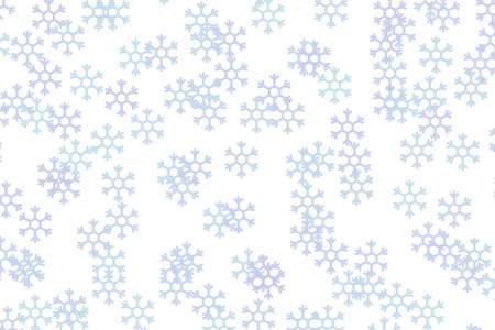 Computer generated abstract background. Random snow flake pattern